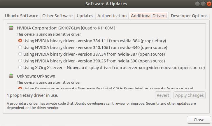 Ubuntu 17 10 & NVIDIA Driver Support – The last stand…